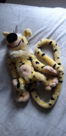 Peluche Marsupilami 30 Cm Franquin Spirou Terry Plüsh Soft Toy Cuddly - Other