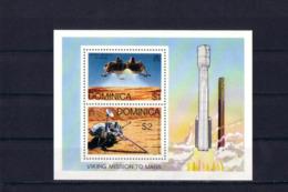 SPACE - Viking - DOMINICA - S/S MNH - Spazio
