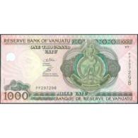 TWN - VANUATU 10c - 1000 1.000 Vatu 2009 Prefix PP UNC - Vanuatu