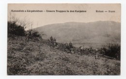 Russia. Ukraine. Roham. Germany. Carpathians. Karpaten. War 1914-15. Soldiers. Truppen. - Oekraïne