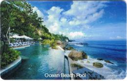 INDONESIA  KEY HOTEL    Ayana Resort And Spa - Ocean Beach Pool -     Jimbaran - Hotelkarten