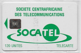 Centrafrique  1 Carte Socatel - Repubblica Centroafricana