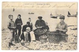 Cpa: 76 YPORT (c. Fécamp) Amorçage Des Lignes (Précurseur, état) 1903 - Yport