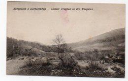 Russia. Ukraine. Germany. Carpathians. Karpaten. War 1914-15. Soldiers. Truppen. Galizien.Galicia. Karpathen. - Oekraïne