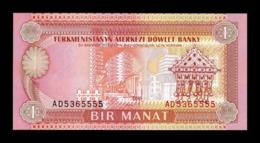 Turkmenistan 1 Manat 1993 Pick 1 SC UNC - Turkmenistán