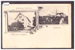 GRUSS AUS LEUGGERN - B ( LEGER PLI D'ANGLE ) - AG Aargau