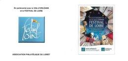 FRANCE CARNET COLLECTOR ORLEANS FESTIVAL DE LA LOIRE NON PLIE TB VOIR SCANS - Collectors