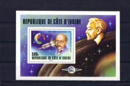 SPACE - Planck - COTE D'IVOIRE - S/S MNH - Spazio