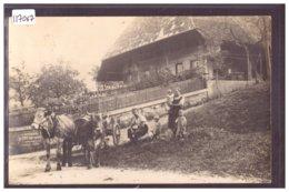 FERME EN ARGOVIE - ATTELAGE - TB - AG Aargau