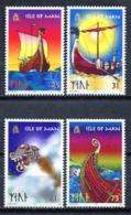 Isle Of Man 1991 / Viking Ships MNH Barcos Vikingos Schiffe / C9726  38-4 - Boten