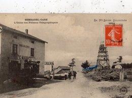 SEMBADEL SEMBADEL-GARE L'USINE DES POTEAUX TELEGRAPHIQUES - France