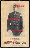 Oorlog Guerre Armand Anciaux Ways Soldaat Chasseur Gesneuveld Te Ougrée Liege 6 Aug 1914 Pichot Genappe - Imágenes Religiosas