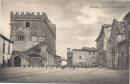 Cartolina+Orvieto+ Piazza Del Mercato - Italië