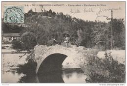 Q14- 06) VILLENEUVE LOUBET - EXCURSION - ENVIRONS DE NICE - (ANIMÉE) - Autres Communes