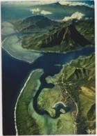 MOOREA - La Baie D'Opunohu - MONTAGNE, LAGON - CPM TBon Etat (voir Scan) - Polynésie Française