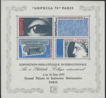 """BF 7 """"ARPHILA 75"""" PARIS Exposition Philatélique Internationale. Neuf Sans Charnière **. TB - Blocchi & Foglietti"""