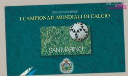 San Marino MH5 (kompl.Ausg.) Postfrisch 1998 Fußball WM Frankreich (9350619 - Unused Stamps