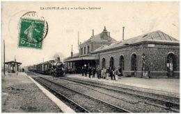 28 LA LOUPE - La Gare - Intérieur - La Loupe