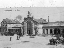 SOISSONS LA GARE - Soissons