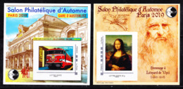 "#           ¤¤    Yvert CNEP N° 81 Salon D'automne 2019 - ""Gare D'Austerlitz"" & ""Leonard De Vinci"" - Neuf**  Luxe ¤¤ - CNEP"