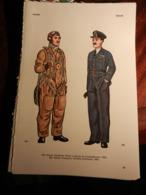 1) DIVISA MILITARE GRECIA AVIAZIONE PILOTA E TENENTE COLONNELLO - GERMANIA PARACADUTISTI SERGENTE MAGGIORE - GRAN BRETAG - Uniforms