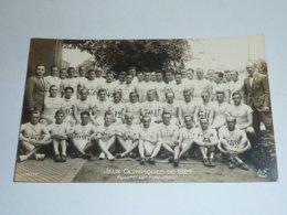 JEUX OLYMPIQUE DE 1924 - EQUIPE DE FINLANDE - CARTE POSTALE FABRIQUE EN FRANCE - PARIS (AE) - Olympic Games