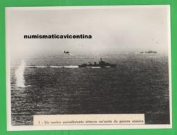Regia Aeronautica Nave Nemica Attacco Aerosilurante Italiano Navi Navir Aerei Avion Old Photo - Guerre, Militaire