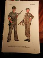 1) DIVISA MILITARE USA MARINES SOLDATO - GRAN BRETAGNA SERGENTE MAGGIORE - UNIONE SOVIETICA FANTERIA MARINA - GERMANIA - Divise