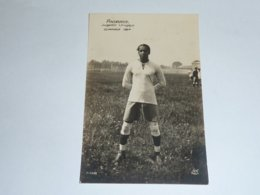 JEUX OLYMPIQUE DE 1924 - ANDRADE JUGADOR URUGAYO - FOOTBALL - CARTE POSTALE FABRIQUE EN FRANCE - PARIS (AE) - Olympic Games