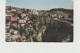 CPSM CONSTANTINE (ALGERIE) LE QUARTIER ARABE - BEAU CACHET DE LA GENDARMERIE NATIONALE : BRIGADE DE MILA - Constantine