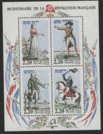 """BF 10 """"Bicentenaire De La Révolution Française"""". Neuf Sans Charnière **. TB - Blocchi & Foglietti"""