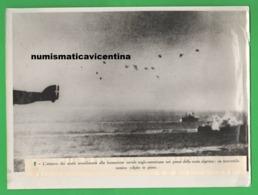 Algeria Front Regia Aeronautica Navi Nemiche Attacco Aerosilurante Savoia Marchetti Navir Aerei Avion Old Photo - Guerre, Militaire