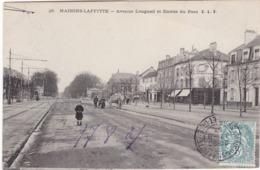 MAISONS-LAFFITTE - Avenue Longueil Et Entrée Du Parc - Maisons-Laffitte
