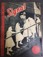 - Revue Guerre 39-45 - Signal - N°6 - 1944 - La Croix Rouge - - Kranten