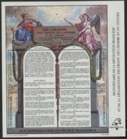 """BF 11 """"Bicentenaire De La Révolution Française Et De La DDHC"""". Neuf Sans Charnière **. TB - Blocks & Kleinbögen"""