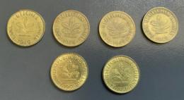 GERMANIA FEDERALE - 2 Monete 10 PFENNIG  1949 E 1950 D - [ 7] 1949-… : RFA - Rep. Fed. Tedesca