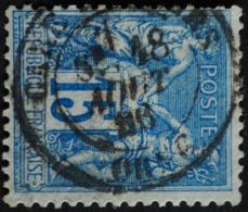-Sage N°90 Type Ll. O (.CAD) GARE DE FLERS  ( Orne )18 AOUT 1896 - 1876-1898 Sage (Type II)