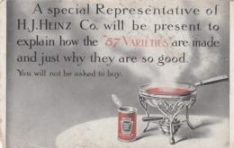 "H.J. HEINZ Company , ""57 Varieties"" Salesman Visit Notice , 00-10s - Advertising"