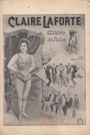 CIRCUS - Claire Laforte - Athlete De Salon - Weylandt & Bauchwitz Edition - Zirkus