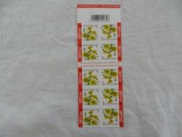 Belgique - Carnet De 10 Timbres Neufs - 2005 - 50gr - Fleurs Jaune - Booklets 1953-....
