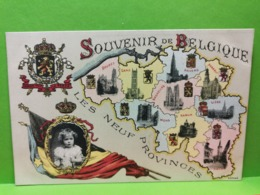 Souvenir De Belgique, Les Neuf Provinces - Autres
