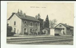 03 - Allier - Doyet - La Gare - Animée - - Otros Municipios