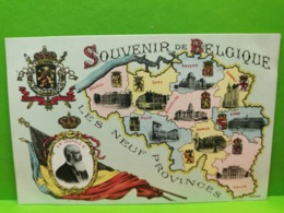Souvenir De Belgique, Les Neuf Provinces - Andere