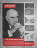 L'ILLUSTRE ( SUISSE ).1945 : FRANCE & SUISSE .CENTRE DISCIPLINAIRE U.S. . ALLEMAGNE OCCUPEE .HEROÏSME GREC . S. D. N. . - Kranten