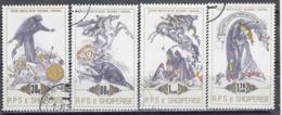 Albania 1989 - Folklore, Mi-Nr. 2391/94, Used - Albania
