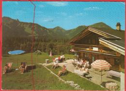 Rottach-Egern, Berggasth. Bäckeralm, Wallberg, Setzberg, Plankenstein, Risserkogl - Tegernsee