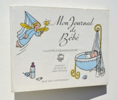 Enfantina / Mon Journal De Bébé - Aquarelles De Jean EFFEL - L'Heptameron, 1948 - Boeken, Tijdschriften, Stripverhalen