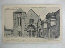 LONGPONT LORMOY Par Saint Michel Sur Orge - Entrée De La Ferme Et L'église - Other Municipalities