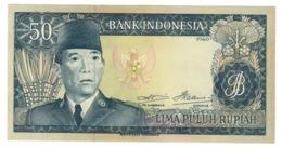 Indonesia 50 Rupiah 1960 Pick 85B UNC - Indonesia