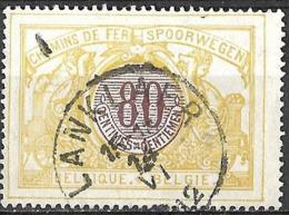 B0.72: LANKLAER  15-16 14 VI 1912 : N°TR39: Poststempel: Type E18 - Chemins De Fer